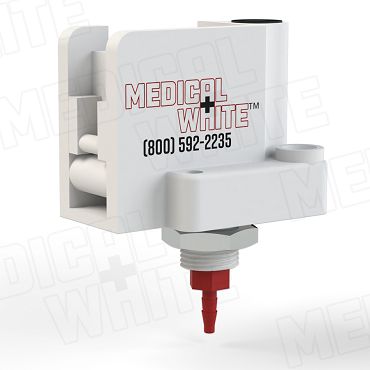 FMW-4300-2-PM-P80 - Adjustable 4 Amp Low Deadband Pressure Switch - 2 PSI, Panel Mount, Polysulfone 1/16