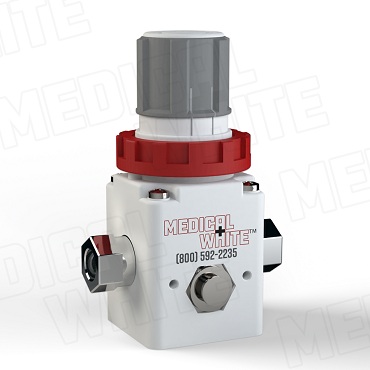 VMW-140-N01 - High Flow Vacuum Regulator - 1/8