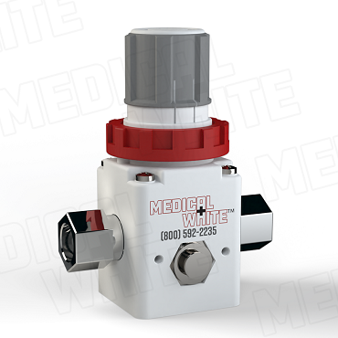 VMW-140-N02 - High Flow Vacuum Regulator - 1/4