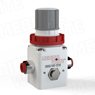 VMW-140-N07 - High Flow Vacuum Regulator - 1/4