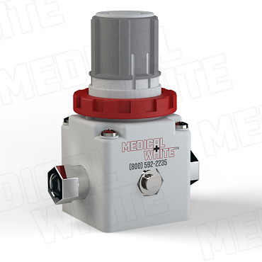 VMW-240-N02 - High Flow Vacuum Regulator - 1/4