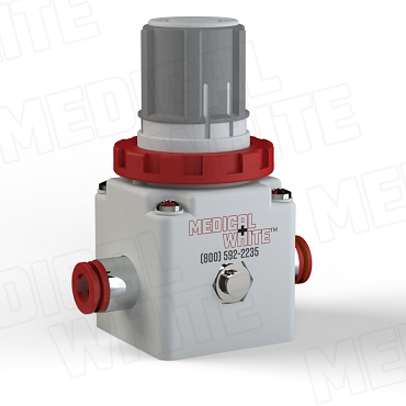 VMW-240-N11 - High Flow Vacuum Regulator - 3/8